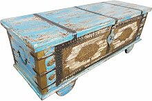 Truhe Kiste Holztruhe Vintage Massiv Box aus