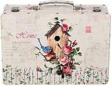 Truhe Kiste KD 1517 Koffer, Kofferset, Holztruhe