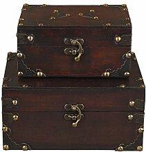 Truhenset SD 1419 , Zweier Set , Geschenkset