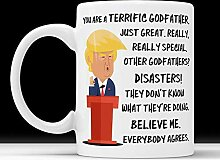 Trump Mug Godfather Unangemessene Geschenke