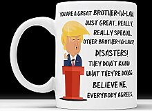 Trump Mug Schwager Unangemessene Geschenke Männer