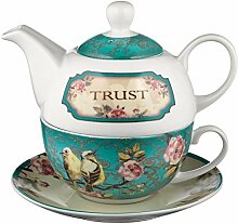 Trust in the Lord Collection Tea-for-One Set -