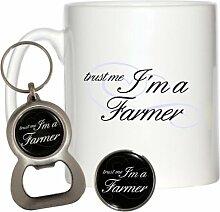 Trust Me I 'm A Farmer 284ml Becher, Pin