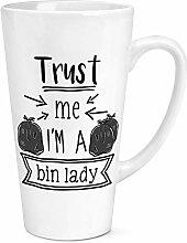 Trust Me I'M A Mülleimer Damen 17oz Groß