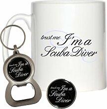 Trust Me I 'm A Scuba Diver 284ml Becher,