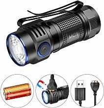 TrustFire MC1 Taschenlampe, 1000 Lumen, kompakt,