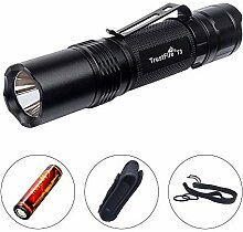 TrustFire T3 Taktische LED-Taschenlampe, 1000