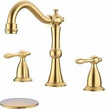 TRUSTMI 2 Griff 8 Zoll Badezimmer Wasserhahn mit