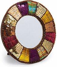 Truu Design Dekorativer Tischspiegel, rund, mit