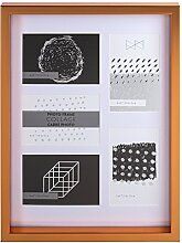 Truu Design Glänzende dekorative Collage Wand PS,