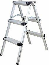 TryESeller Aluminium 3-Stufen-Leiter