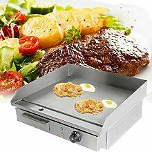 TryESeller Elektrische Grillplatte Barbeque Grill