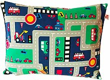 TryPinky Kissenhülle 30 X 40 cm Auto Spielteppich