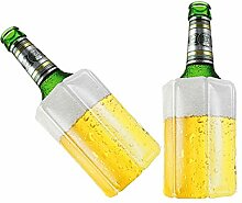 TS Exclusiv 2X Bier Kuehlmanschette Bierkühler