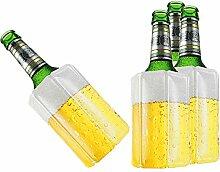 TS Exclusiv 4X Bier Kuehlmanschette Bierkühler
