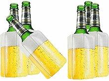 TS Exclusiv 6X Bier Kuehlmanschette Bierkühler