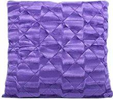 TS24direkt Verwandlungskissen Mikrofaser Violett