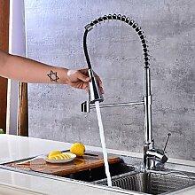 TSAR003 Mittellage Keramisches Ventil Chrom , Armatur Für Die Küche , Golden