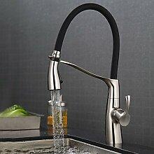 TSAR003 Mittellage Keramisches Ventil Polierter Nickel , Armatur Für Die Küche