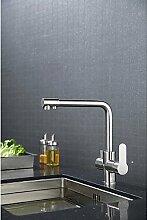 TSAR003 Modern/Zeitgenössischkeramisches Ventilgebürstet , Armatur Für Die Küche , Silver