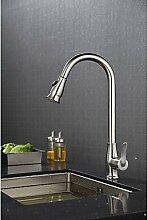 TSAR003 Modernekeramisches Ventilgebürstet , Armatur Für Die Küche , Silver