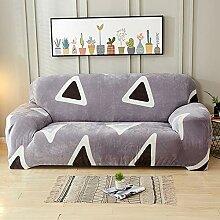 TSSCY Sofa Überwurf Plüsch,Stretch hussen