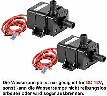 TSSS Brushless Mini Wasserpumpe 240L/H DC12V 4.8W