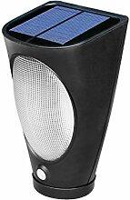 TSSS HY-ML-03 Solarenergie Schreibtisch Leselampe PIR Bewegungs-Sensor-Wand Zaun Notfall Taschenlampe Für Outdoor