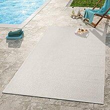 TT Home Moderner Outdoor Teppich Wetterfest Für