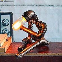 TT Moderne Retro Wasserrohrlampe Metall Kreative