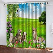 TTBBBB Blickdicht Vorhang Für Schlafzimmer
