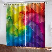 TTBBBB Vorhang Küche Dreidimensionale Bunte