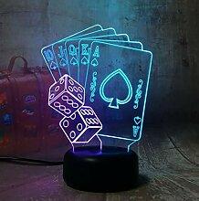 TTGG Spaß Würfel Poker Spielkarten Spiel Party