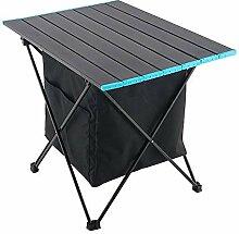 TTLIFE Tragbarer Aluminium-Picknicktisch für