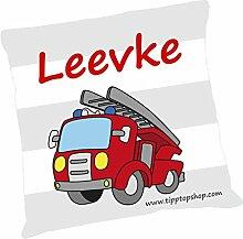 TTS Körnerkissen Feuerwehrauto mit Namen