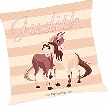 TTS Körnerkissen Pferde mit Wunschbeschriftung