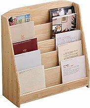 TTW Bücherschrank für Kinderzimmer aus Holz