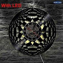 TTZSE Cirkel 3D Decoratieve Wandlampe Mit Kleur