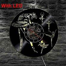 TTZSE LED Direktlicht Vinyl Wandlampe Farbe