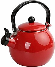 Tubayia 1.5L Emaille Whistling Tee Wasserkocher