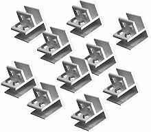 Tubayia 10 Stück Einstellbar Aluminiumlegierung