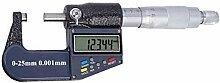 Tubayia Digital Mikrometer Bügelmessschraube