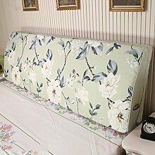Tuch Kissen Bedside Soft Tasche Rücken Stütz Rückenlehne Schwamm große Rückenlehne (7 Farben erhältlich) ( Farbe : F , größe : 200*50*15cm )