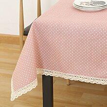 Tuch Kleine Frische Tapete,Garten Rechteckig Baumwolle Leinen Quadrat Tuch,Einfaches Modernes Tuch-I 140x200cm(55x79inch)