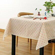 Tuch Kleine Frische Tapete,Garten Rechteckig Baumwolle Leinen Quadrat Tuch,Einfaches Modernes Tuch-E 60x60cm(24x24inch)