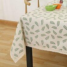 Tuch Kleine Frische Tapete,Garten Rechteckig Baumwolle Leinen Quadrat Tuch,Einfaches Modernes Tuch-K 150*200cm(59x79inch)