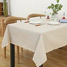 Tuch Kleine Frische Tapete,Garten Rechteckig Baumwolle Leinen Quadrat Tuch,Einfaches Modernes Tuch-F 150x220cm(59x87inch)