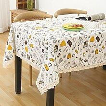 Tuch Kleine Frische Tapete,Garten Rechteckig Baumwolle Leinen Quadrat Tuch,Einfaches Modernes Tuch-S 60x60cm(24x24inch)