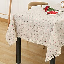 Tuch Kleine Frische Tapete,Garten Rechteckig Baumwolle Leinen Quadrat Tuch,Einfaches Modernes Tuch-R 110x170cm(43x67inch)