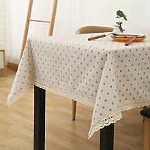 Tuch Kleine Frische Tapete,Garten Rechteckig Baumwolle Leinen Quadrat Tuch,Einfaches Modernes Tuch-C 90x140cm(35x55inch)